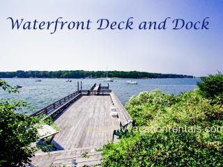 KERR4 -  Sophisticated and Charming Waterfront Cottage, Large Waterfront Deck, Dock, Mooring, Tennis Court, Spectacular Views - Vineyard Haven vacation rentals