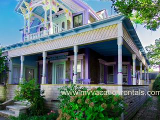 FRANM - 1870  Victorian Ginger Bread Cottage Meets 2013,  Short stroll to Town Center, Inkwell Beach, and Harborfront - Oak Bluffs vacation rentals