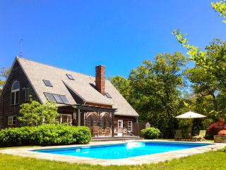 WOODJ - Gorgeous Retreat, Pool, Lush Landscaped Yard, Expansive Deck and Patio Areas, Luxury Interior, Media Room, Home Gym, Wi- - West Tisbury vacation rentals