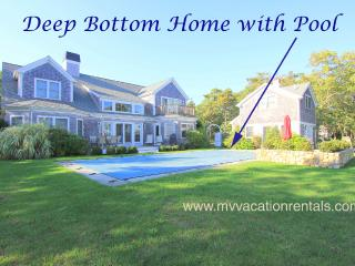 CASED - Deep Bottom Pond, Private Heated Pool, Central Air, WiFi, Gorgeous Views - West Tisbury vacation rentals
