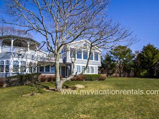 FADER - Above It All, An Architectural Gem of a Home, Spectacular Ocean Views, Privately Sited on a Lushly Landscaped Hilltop - Chilmark vacation rentals