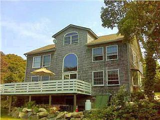 HARDM - Hilltop Waterview, Spectacular Sunsets, Walk to the Beach, WiFi, Superior Kitchen, Large Deck - Aquinnah vacation rentals
