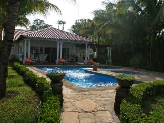 Lux Beach House Front View - Pochomil vacation rentals