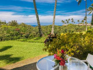 Alii Kai II Ocean View, 2 br, 2 bath.  No Stairs! - Princeville vacation rentals