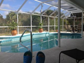 Private heated saltwater pool home! Summer special - Port Charlotte vacation rentals