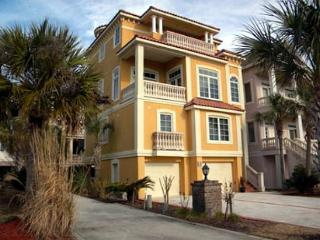 Luxurious 4BR/4.5 BA Three-Story Home has Panoramic Ocean and Marsh Views - Palmetto Dunes vacation rentals