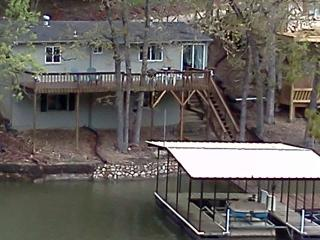 10 Mile Marker Lake Cabin with main channel view - Missouri vacation rentals