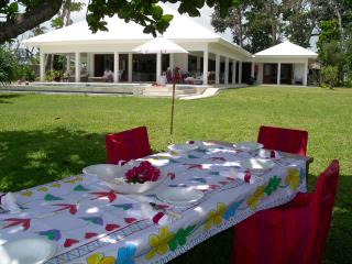 Villa Anouska absolute private beachfront, Vanuatu - Efate vacation rentals