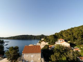 Apartment with balcony and sea view - Mljet vacation rentals