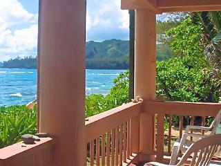 BEACHFRONT - Sunsets, Rainbows, Oceanfront - Haena vacation rentals