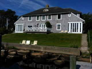Oceanfront with Beach and Dock on Harthaven Harbor - Martha's Vineyard vacation rentals