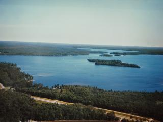 Voegeli Lodge on the shoreline of Trout Lake - Woodruff vacation rentals