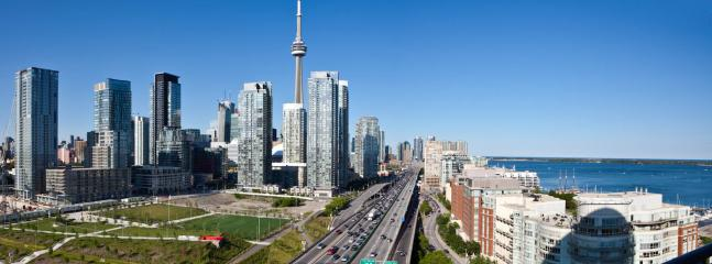 Gorgeous view to the city and lake - 2 Br Lux Suite+Parking, on Lake Shore - Toronto - rentals