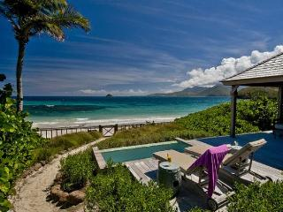 NEW StKitts Oceanfront Beach Bungalow RATE SPECIAL - Saint Kitts vacation rentals