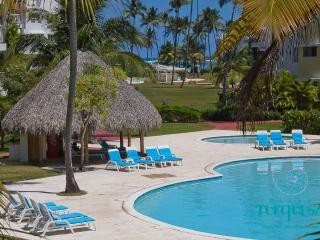 PLAYA TURQUESA A-101 - 2 br in ocean front complex - Punta Cana vacation rentals