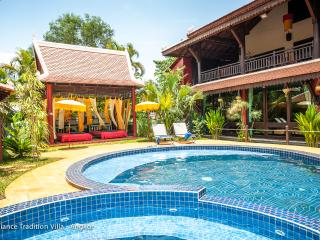 Balcony suite 3 bd in Khmer Villa - Siem Reap vacation rentals