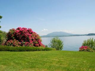 Lake Maggiore Lesa lakefront villa with pool - Lesa vacation rentals