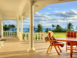 Seven Palms - Ocean Front Estate with Private Beach - Governor's Harbour vacation rentals