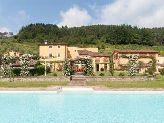Casa Del Fattore with floodlit pool,  Jacuzzi, rose covered gazebos & daily maid - Vorno vacation rentals