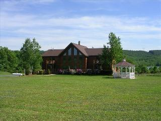 Magnificent Log Home overlooking Beltzville Lake and State Park - Allentown vacation rentals