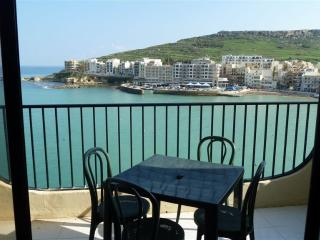 3 bedroomed Seafront Apartment enjoying elevated breathtaking views of Marsalforn Bay - Island of Gozo vacation rentals