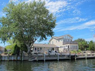 Lagoon Front with bay views - 6 BR  Loveladies LBI - Long Beach Island vacation rentals