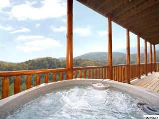 Mama Bear overlooking Downtown Gatlinburg - Gatlinburg vacation rentals