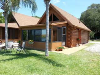 Log Cabin on Lake Okeechobee, Florida - Okeechobee vacation rentals