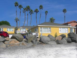 OCEAN FRONT on the STRAND  -  STEPS TO THE SAND. - Oceanside vacation rentals