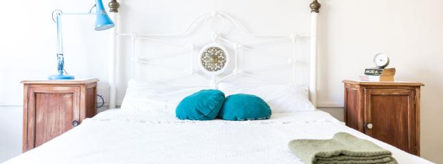 King Sized Bed in Main Bedroom - Bright spacious apartment - Central Malta - Birkirkara - rentals