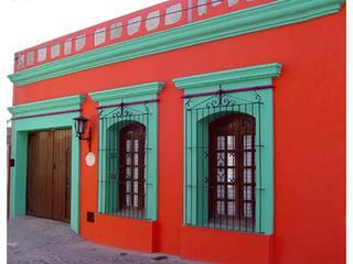 Main view from street. - Best of Oaxaca, one-bedroom apartments, Jalatlaco - Oaxaca - rentals
