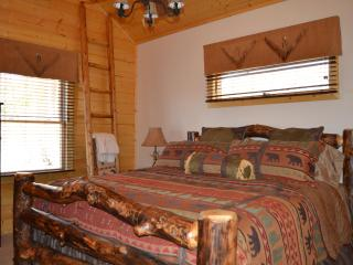 Brand New 2 BR 2 Bath Log Cabin with Mountain View - Maggie Valley vacation rentals