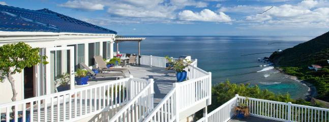 Andante by the Sea, Romantic Oceanfront Getaway, Unparalleled Views, 3 AC Bdrms, 3 ensuite Baths - ANDANTE BY THE SEA, Barefoot Luxury on Hart Bay - Saint John - rentals