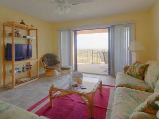 SeaPlace 11206, Direct Beach Front, new LCD TV and DVD player, Tile Floors - Saint Augustine vacation rentals