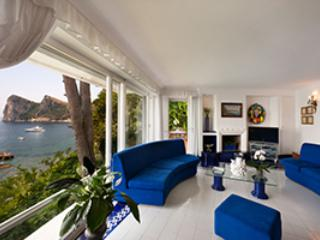 Luxurious 7 bedroom villa by the sea front on the Sorrento Coast - Campania vacation rentals