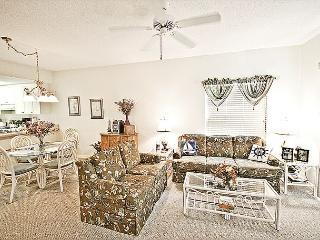 Ocean Village Club Q19, Ground Floor, Screened Lanai, 2 pools, tennis & beach - Saint Augustine Beach vacation rentals