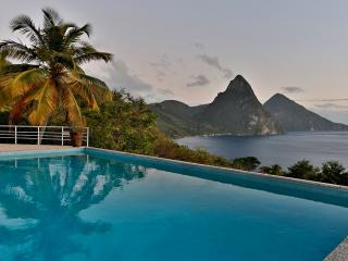 4 Bedroom/4 Bathroom Charming Hideaway in St Lucia - Soufriere vacation rentals