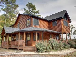 LONESOME DOVE-3BR/3BA-WESTERN THEMED CABIN, MOUNTAIN VIEW, GAS GRILL, WIFI, PAVED ROADS, POOL TABLE, WET BAR, FLAT SCREEN TV`S, GAS & WOOD BURNING FIREPLACES! ONLY $250 A NIGHT! - Blue Ridge vacation rentals