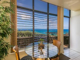 Free car* with Poipu Shores 101B - You cannot get closer to the ocean. 1 bed, large lanai, AC and a heated Pool! - Poipu vacation rentals