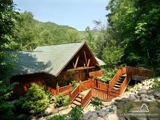 Aah-Some River Lodge   On the River Private Hot Tub WiFi   Free Nights - Gatlinburg vacation rentals