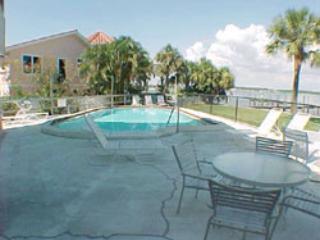 Pool area - Bay View Condo - Bradenton Beach - rentals
