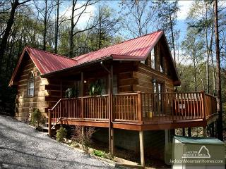 A Heavenly Escape  King Bed Wooded View Hot Tub Fireplace  Free Nights - Gatlinburg vacation rentals