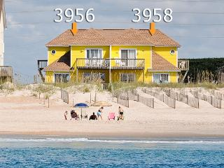 Island Drive 3956 Oceanfront! | Internet, Pet Friendly - North Topsail Beach vacation rentals