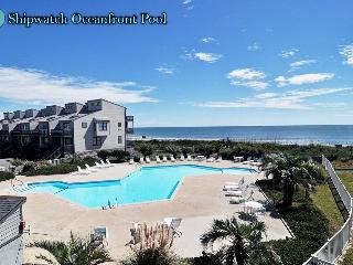 Shipwatch Villa 1401 Oceanfront! | Community Pool, Elevator - North Topsail Beach vacation rentals