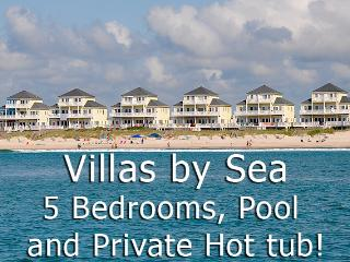 Villas Drive 856 Oceanfront | Community Pool, Hot Tub, Elevator, Jacuzzi, Internet - North Topsail Beach vacation rentals