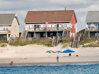 Island Drive 3982 Oceanfront!   Internet, Pet Friendly, Game Equipment, Wedding Friendly - North Topsail Beach vacation rentals