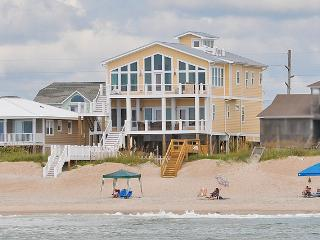 S. Shore Drive 1328 Oceanfront! | Private Pool, Hot Tub, Elevator, Game Equipment, Internet - Surf City vacation rentals