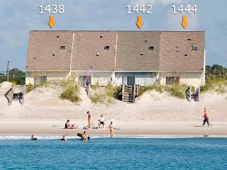 New River Inlet Rd 1444 Oceanfront! | Jacuzzi, Internet - North Topsail Beach vacation rentals