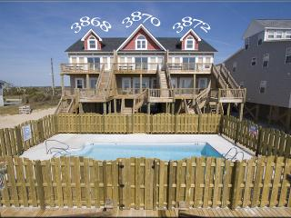 Island Drive 3870 Oceanfront! | Shared Pool, Internet - North Carolina Coast vacation rentals