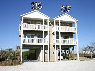 Pinellas Bay 217 Oceanview! | Jacuzzi, Connecting Door - North Topsail Beach vacation rentals